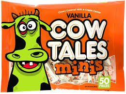 cow tales halloween candy american made peanut free nut free