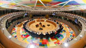 members of the round table eu members bicker over migration policy at summit