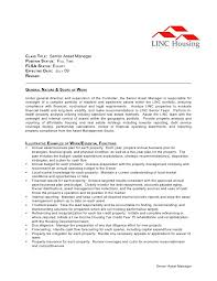 Sample Resume For Insurance Agent by 20 Sample Resume For Property Manager Employment Application