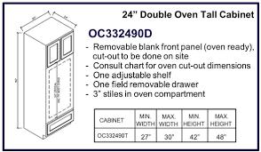 kitchen cabinet face frame dimensions best standard wall oven sizes regarding standard ki 20627