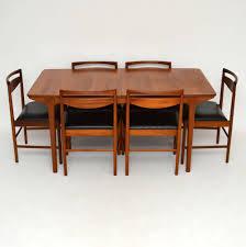 Chair Mid Century Danish Modern Arne Vodder Teak Dining Table - Danish teak dining room table and chairs