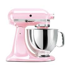 light pink kitchenaid stand mixer kitchenaid ksm150pspk artisan series susan g komen foundation pink 5