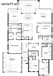 open ranch style floor plans home design floor plan of modern single indian house plans story