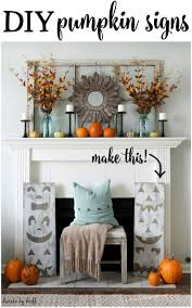15 fall decor ideas for your fireplace mantle view in gallery pumpkin decoration for fall fireplace