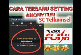 spoof host youthmax telkomsel cara setting anonytun telkomsel videomax youthmax dan kuota malam