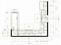 luxury kitchen floor plans luxury u shaped kitchen floor plans with island exceptional