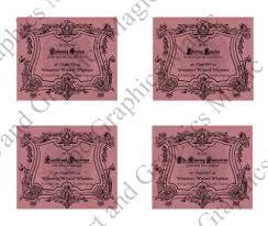 harry potter 5 x 4 labels printable love potion