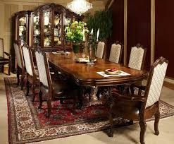 Amini Dining Room Furniture Victoria Palace 10 Pc Rectangular Dining Set By Michael Amini