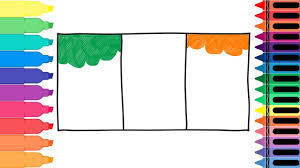 Ireland Flag How To Draw Ireland Flag Drawing The Irish Flag Coloring Pages