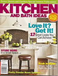 kitchen ideas magazine kitchen bath ideas magazine talks to williams about ranges