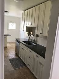 hillside kitchen remodel reveal studio mcgee at first our client considered opening up the kitchen but in the end she didn t want that to be the first thing you see as you walk through the door