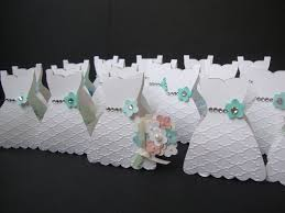 bridal shower party favor idea use the stampin u0027 up dress
