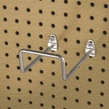 peg board durahook pegboard hook double closed end loop 5 inch