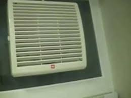 WHB  Windowmounted Exhaust Electric Fan In A Friends - Bathroom fan window