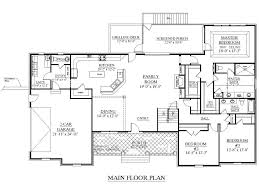 Open Floor Plan Ranch Homes One Story House Plans With Open Floor 14 Classy Design Ideas Ranch