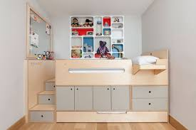 casa kids u0027 clever sleeping loft is a storage bed on steroids