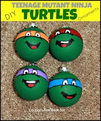 how to diy turtle ornaments