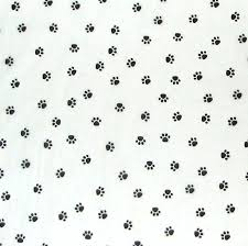 paw print tissue paper 10 sheets white paw print tissue paper dog puppy paws paper