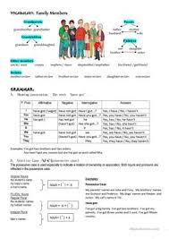 36 free esl possessive case worksheets