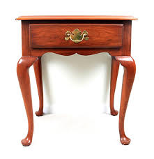 Henkel Harris Desk Henkel Harris Queen Anne Style Cherry End Table Ebth