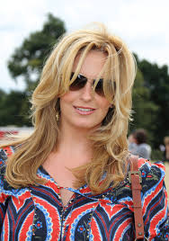 why did penny cut her hair penny lancaster layered cut penny lancaster lancaster and