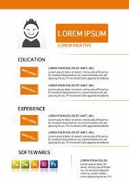 Resume Template Graphic Designer Graphic Designer Resume Template Free Single Page Resume Template