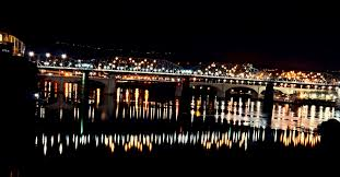 Riverside Light Show by Elevation Of Riverside Chattanooga Tn Usa Maplogs