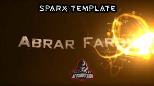 free sony vegas intro template sparx template youtube