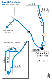 Seattle Bus Route Map by Snow Routes