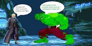 marvel capcom 3 hulk wesker bladepuppetmaster deviantart