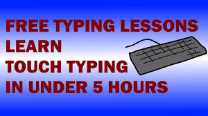 5 hours class online free typing lessons learn touch typing in 5 hours with