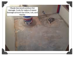 How To Install Tile Around A Bathtub My Super Secret Way To Install Bathroom Floor Tile Part 1