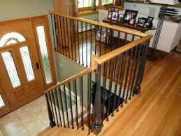 Banister Remodel Bennett Stair Company Inc Wood U0026 Iron Rails