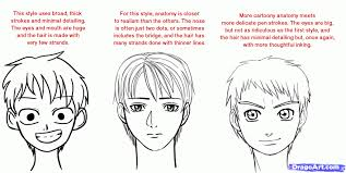 shonen hairstyles anime styles drawing how to draw shonen draw anime boys stepstep
