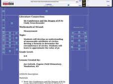 Sir Cumference And The First Round Table Sir Cumference And The Dragon Of Pi Lesson Plans U0026 Worksheets