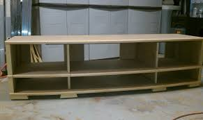 how to build a tv cabinet free plans nepl cool build simple tv stand