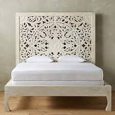 Mdf Bed Frame Balinese Craved Mdf Decorative Bed Headboard Siam Sawadee