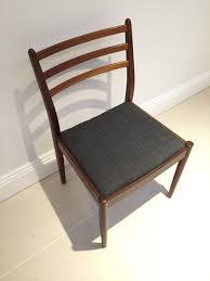 G Plan Dining Chair G Plan Fresco Teak Upholstered Dining Chair X 2