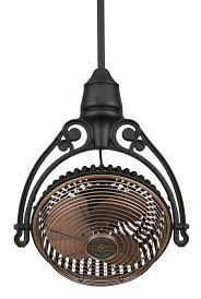 diy caged ceiling fan super easy industrial style fan makeover