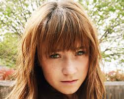 front fringe hairstyles hair deep front bangs creates classy country girl hairstyle