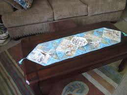 easy coffee table runner adorable coffee table decoration for