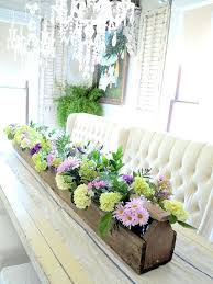 Vases With Fake Flowers Dining Table Artificial Flower Arrangements Dining Room Table