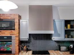 habillage hotte de cuisine inox en cuisine vos réalisations avec steel 2 steel mag