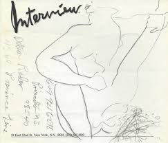 andy warhol pencil drawing and hand signed lithographs