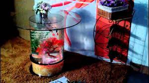 aquarium water fish tank glass top coffee table a343 youtube