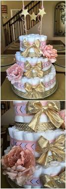 gold and pink baby shower a feminine baby shower in pink and gold dessert tables