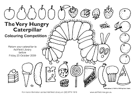 very hungry caterpillar coloring pages cecilymae