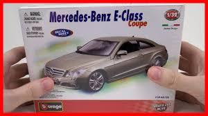 model car toy 1 32 car mercedes benz e 500 class coupe toy car for kids bburago