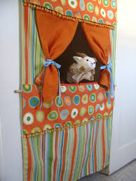 How To Make A Stage Curtain Diy Doorway Puppet Theatre Tutorial Puppets Puppet And Theatres