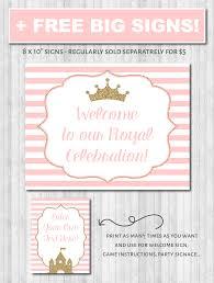 princess party decor pink u0026 gold glitter u2013 wonderbash